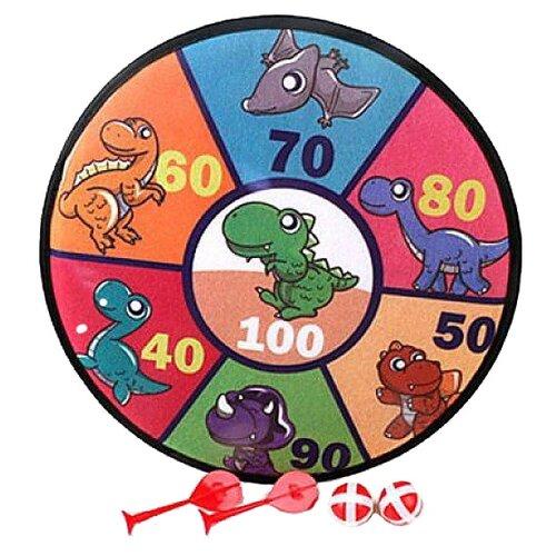 Купить Дартс Shantou Gepai Динозаврики (66336-8), Спортивные игры и игрушки