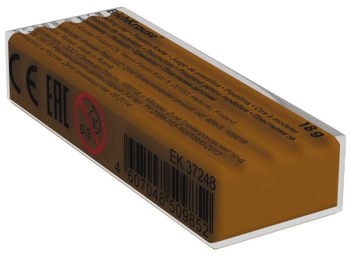 Пластилин ErichKrause Классический коричневый 18 г (37259)