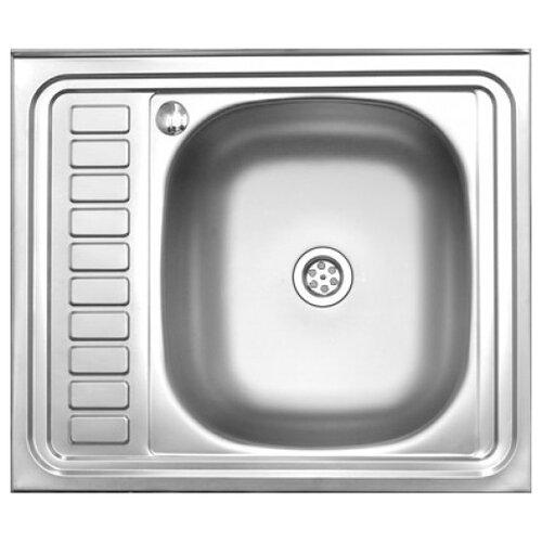 Накладная кухонная мойка 60 см MELANA MLN-6050R нержавеющая сталь кухонная мойка melana 015 t r 10