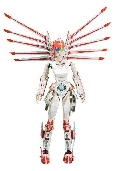 3D-пазл Zilipoo 3D Воин будущего (A-003), 106 дет.