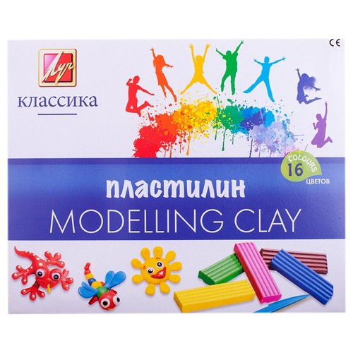 Пластилин Луч Классика 16 цветов (20C1329-08) пластилин луч классика 12 цветов 7c331 08
