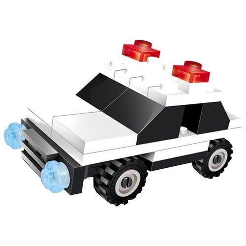 Конструктор Город Игр SuperBlock Полиция MF003175 Патрульная Машина S