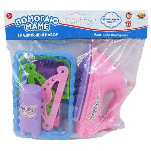 Купить Набор ABtoys Помогаю маме PT-00574 голубой/розовый/зеленый, Детские кухни и бытовая техника