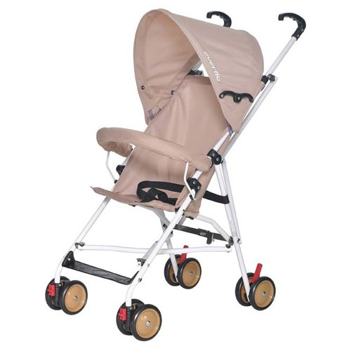 Прогулочная коляска everflo E-100 Simple beige прогулочная коляска everflo e 240 shine серый