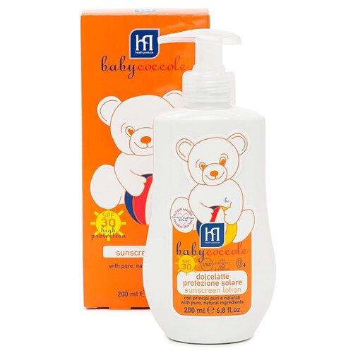 Babycoccole Солнцезащитное молочко SPF 30 200 мл молочко косметическое ла кри 18975 солнцезащитное spf 50 200 мл