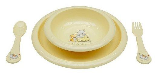 Комплект посуды Bebe-Jou для кормления