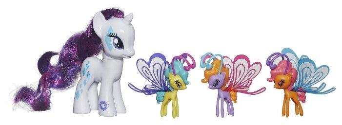 Фигурки Hasbro Cutie Mark Magic Rarity & Friendship Flutters B3014
