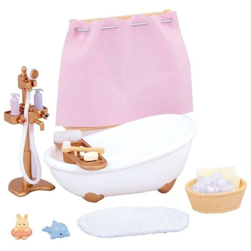 Игровой набор Sylvanian Families Ванная комната мини 3562/5022, Игровые наборы и фигурки  - купить со скидкой