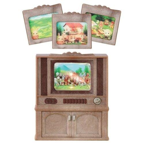 Купить Игровой набор Sylvanian Families Цветной телевизор 2924, Игровые наборы и фигурки