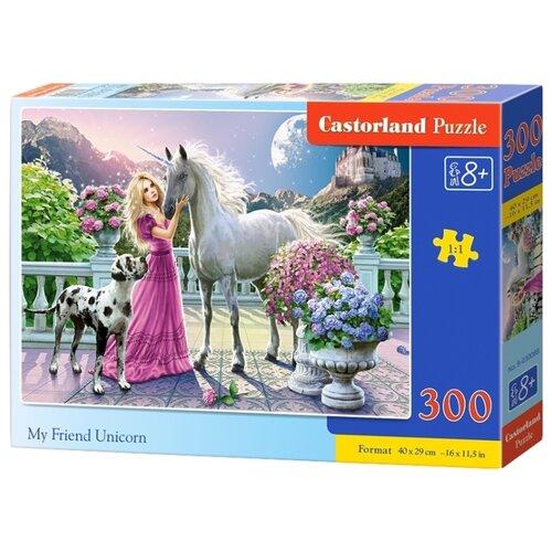 Купить Пазл Castorland My Friend Unicorn (B-030088), 300 дет., Пазлы