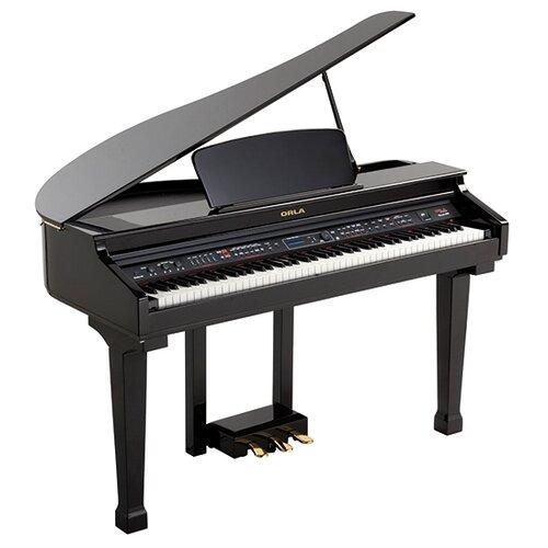 Цифровое пианино Orla Grand 120 черный 2