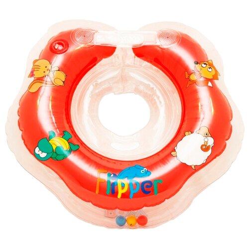 Круг на шею Flipper 2+ FL002 оранжевый