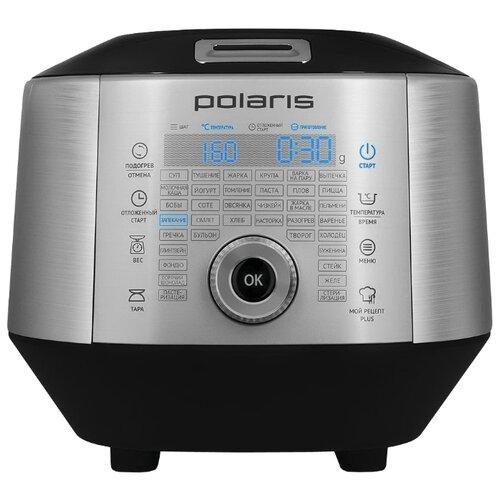 Мультиварка Polaris EVO 0445DS серебристый/черный