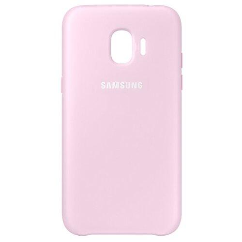 Чехол Samsung EF-PJ250 для Samsung Galaxy J2 (2018) / J2 Pro (2018) розовый чехол накладка для samsung galaxy j2 2018 j2 pro 2018 df sslim 34 blue