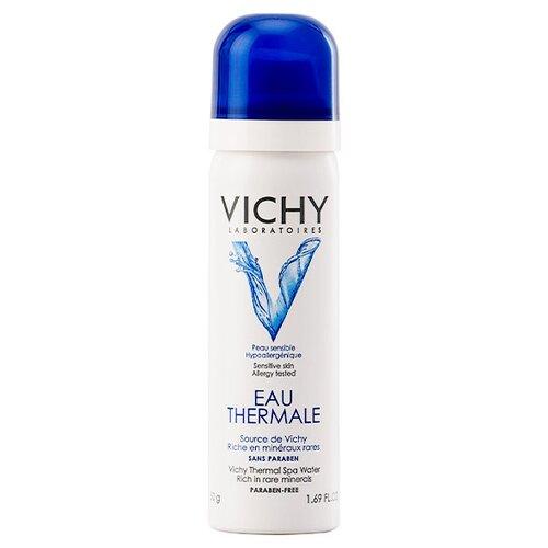 Vichy Термальная вода Eau Thermale 50 мл увлажняющий спрей spf30 200 мл термальная вода vichy 50 мл vichy ideal soleil