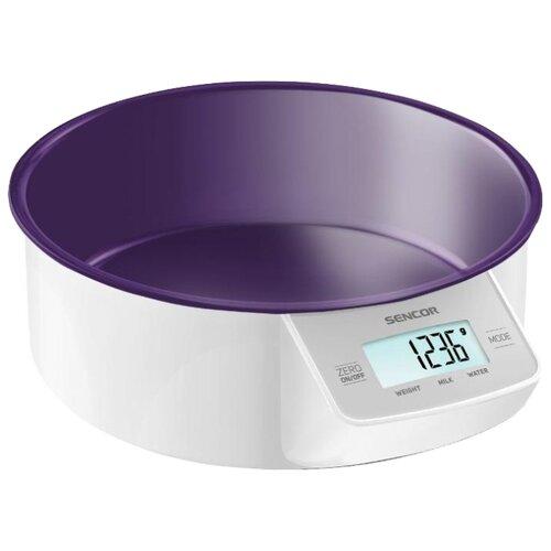 Фото - Кухонные весы Sencor SKS 4004 фиолетовый кухонные весы sencor весы кухонные sks 7001