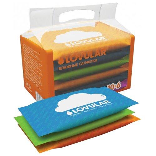 Купить Влажные салфетки LOVULAR Универсальные 60 шт.