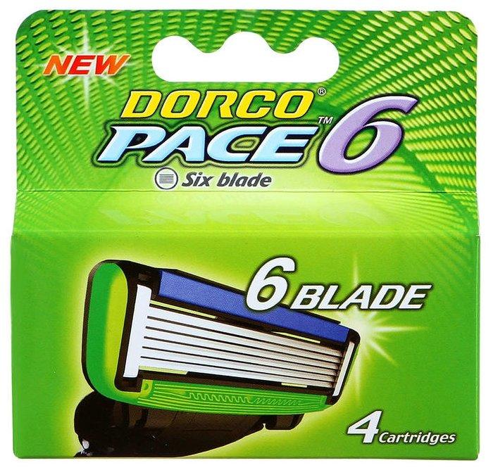 Сменные кассеты Dorco Pace 6 — купить по выгодной цене на Яндекс.Маркете