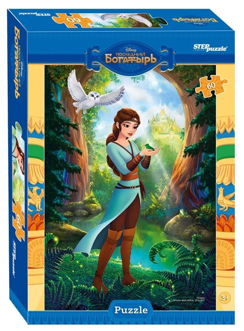 Пазл Step puzzle Disney Последний богатырь (81170), 60 дет.