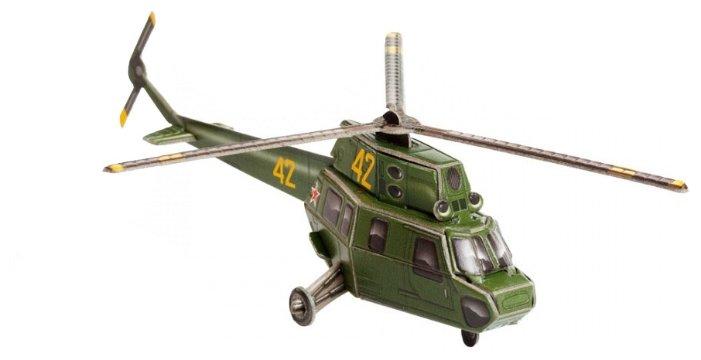 Сборная модель Умная Бумага Вертолет МИ-2 (443),,