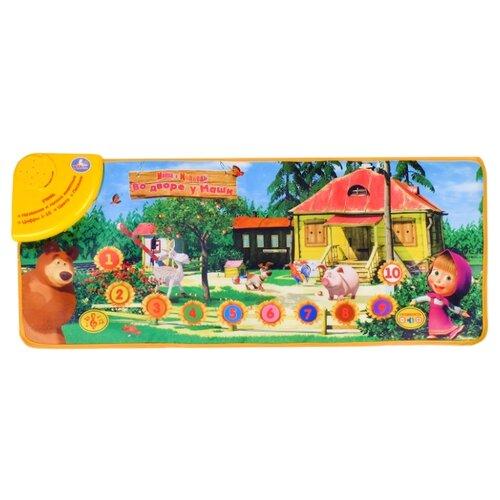 Музыкальный коврик Умка Маша и Медведь Во дворе у Маши (B965830-R)Игровые коврики<br>