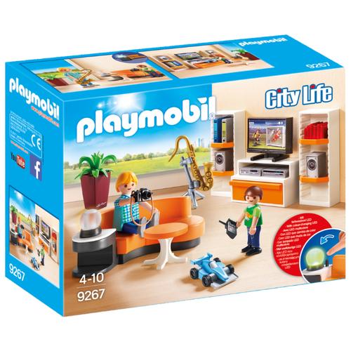 Набор с элементами конструктора Playmobil City Life 9267 Гостиная