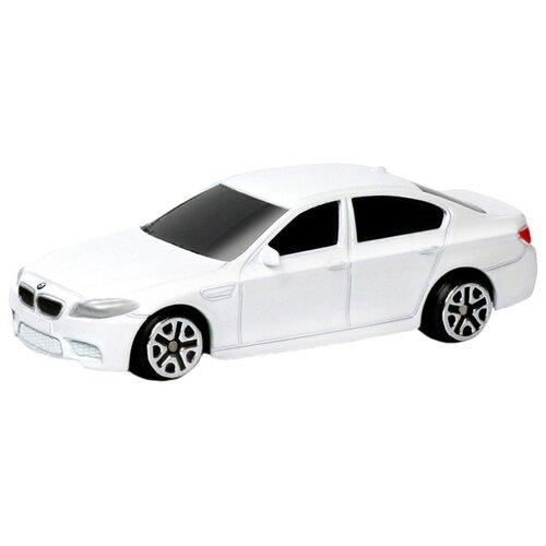 Купить Легковой автомобиль RMZ City BMW M5 (344003S) 1:64 9 см белый, Машинки и техника