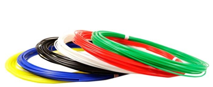 Unid Пластик PLA-6 (по 10м. 6 цветов в коробке) - KL-PLA6