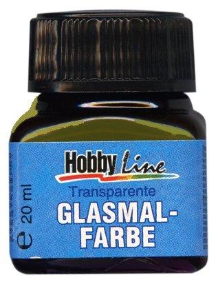 Краски Hobby Line Glasmal Farbe №219 Оливковый прозрачный KR-45219 1 цв. (20 мл.)