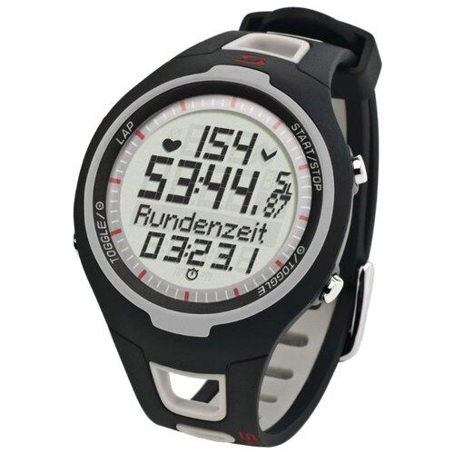 Пульсометр SIGMA PC 15.11, черный/серый