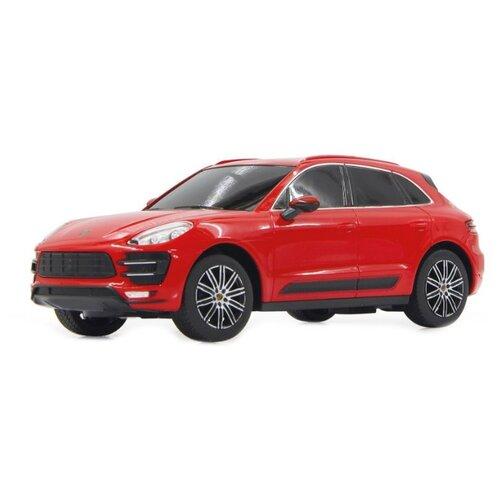 Купить Легковой автомобиль Rastar Porsche Macan Turbo (71800) 1:24 19 см красный/черный, Радиоуправляемые игрушки