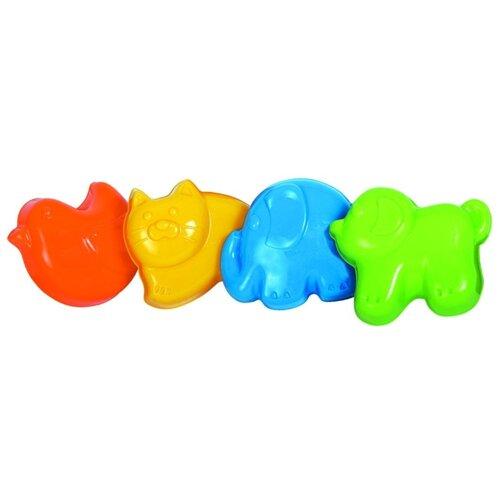 Набор Gowi 558-57 Животные красный/желтый/голубой/зеленый недорого