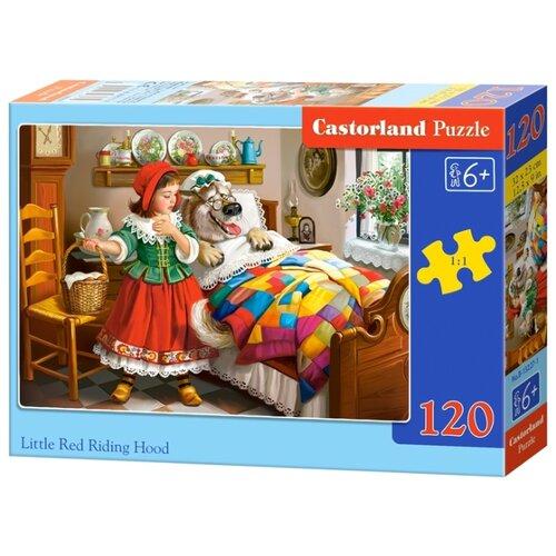 Купить Пазл Castorland Little Red Riding Hood (В-13227), 120 дет., Пазлы