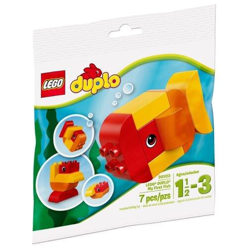 Фото - Конструктор LEGO DUPLO 30323 Моя первая рыбка конструктор lego duplo моя первая минни 10897