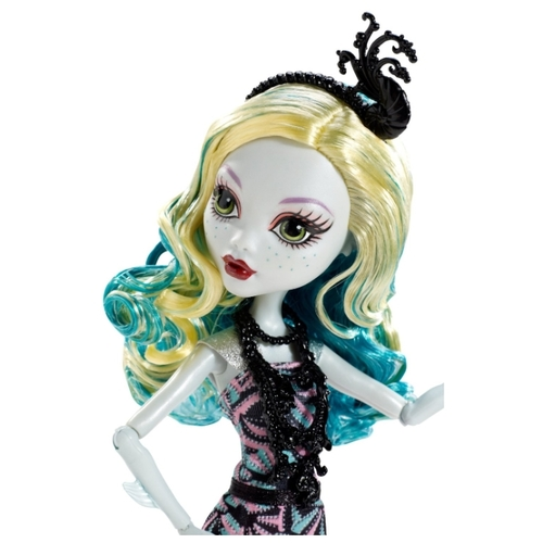 Кукла Monster High Страх! Камера! Мотор! Лагуна Блю, 27 см, BDF24
