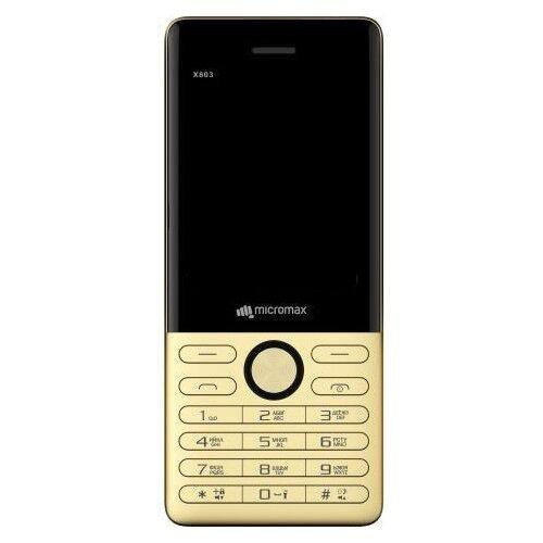 Купить Телефон Micromax X803 шампань