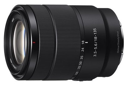 Sony Объектив Sony E 18-135mm F3.5-5.6 OSS (SEL18135)