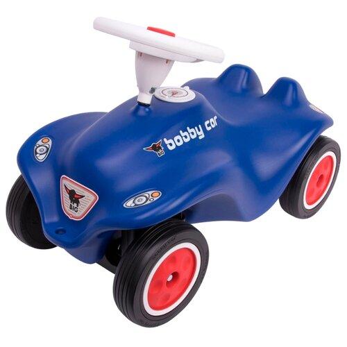 Купить Каталка-толокар BIG New Bobby Car Royalblau (56160) со звуковыми эффектами синий, Каталки и качалки
