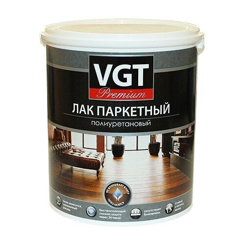 Лак VGT Premium Паркетный полиуретановый матовый полиуретановый бесцветный 2.2 кг лак паркетный акриловый vgt матовый 2 2 кг