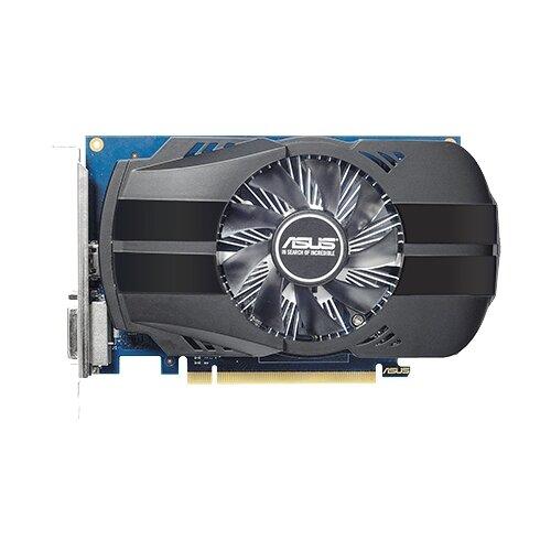 Видеокарта ASUS GeForce GT 1030 1252Mhz PCI-E 3.0 2048Mb 6008Mhz 64 bit DVI HDMI HDCP Phoenix OC Retail