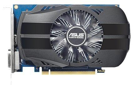 ASUS Видеокарта ASUS GeForce GT 1030 1252Mhz PCI-E 3.0 2048Mb 6008Mhz 64 bit DVI HDMI HDCP Phoenix OC
