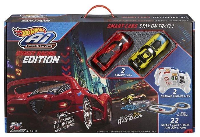 Трек Hot Wheels Умная трасса: A.I Starter set: Street Racing Edition FDY09