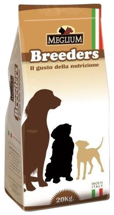 MEGLIUM SENSIBLE BREEDERS для взрослых собак с чувствительным пищеварением, рыба с рисом, 20 кг