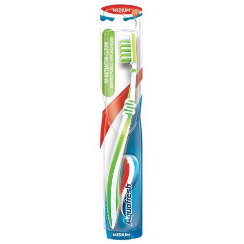 Зубная щетка Aquafresh In-Between Clean, средней жесткости, зеленый jazzanova jazzanova in between