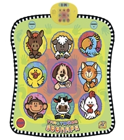 Музыкальный коврик Знаток Танцующий зоопарк (SLW9885)