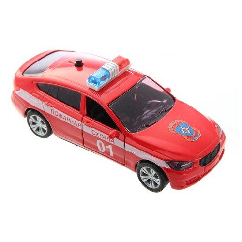 Легковой автомобиль Autogrand Bavaria Gran Turismo пожарная охрана (53419) 1:36 красный фото