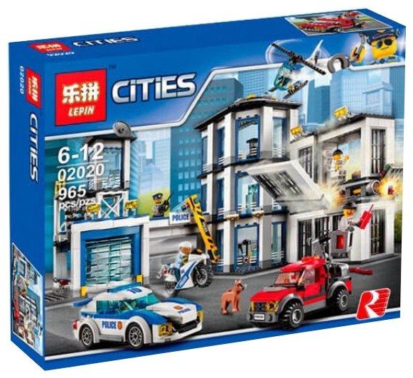 Конструктор Lepin Cities 02020 Полицейский участок