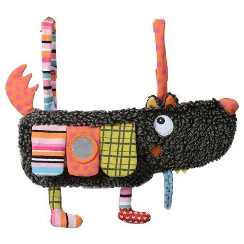 Купить Подвесная игрушка Ebulobo Волчонок (E10050) коричневый/оранжевый, Подвески