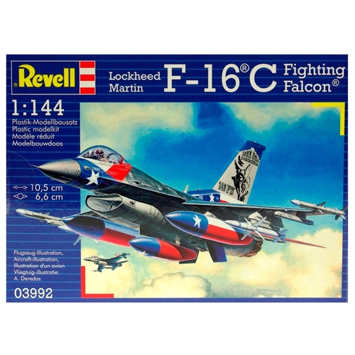 Сборная модель Revell Lockheed Martin F-16C Fighting Falcon (03992) 1:144