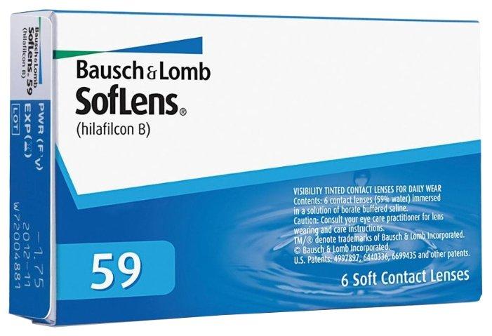 Bausch & Lomb SofLens 59 (6 линз)